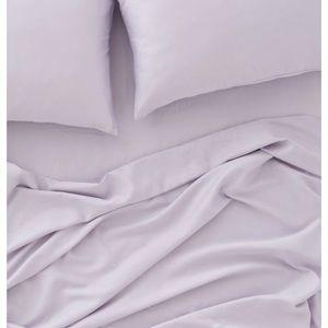 Lilac Cotton Sheet Set